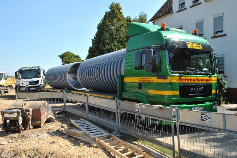 Site Visit: Structured Wall Polypropylene Pipes in Germany, 2018